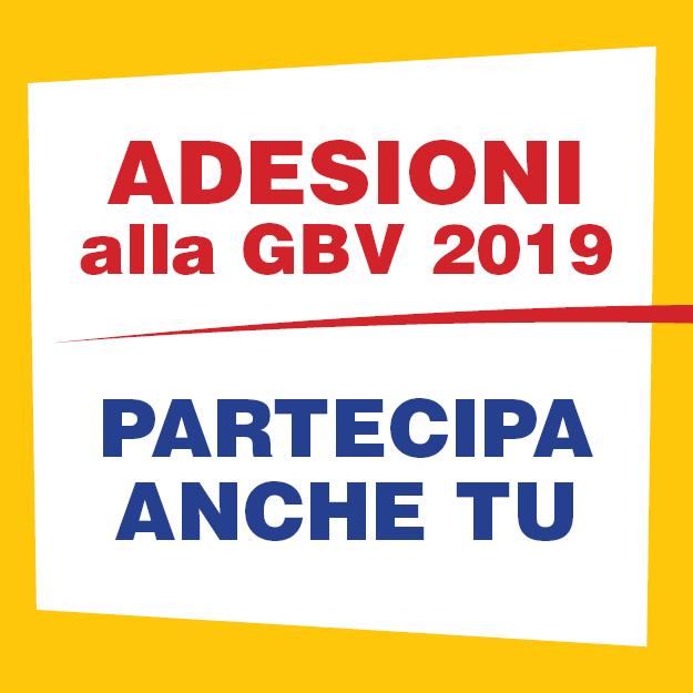 banner gbv 2019 adesioni